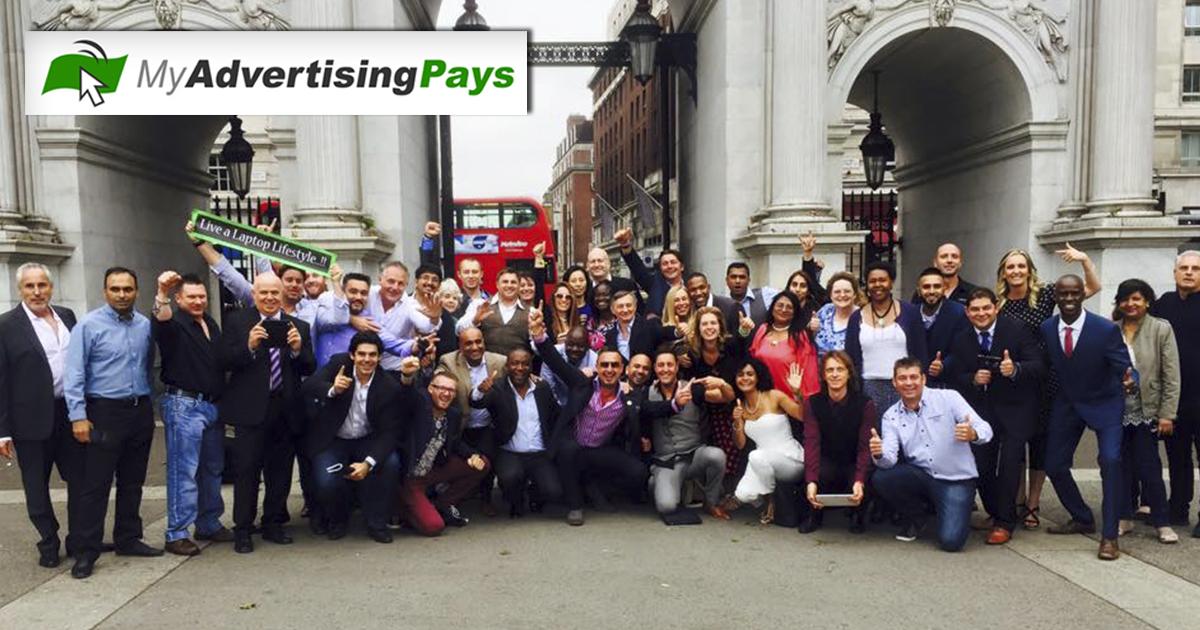 Foto de líderes de MAP en Londres