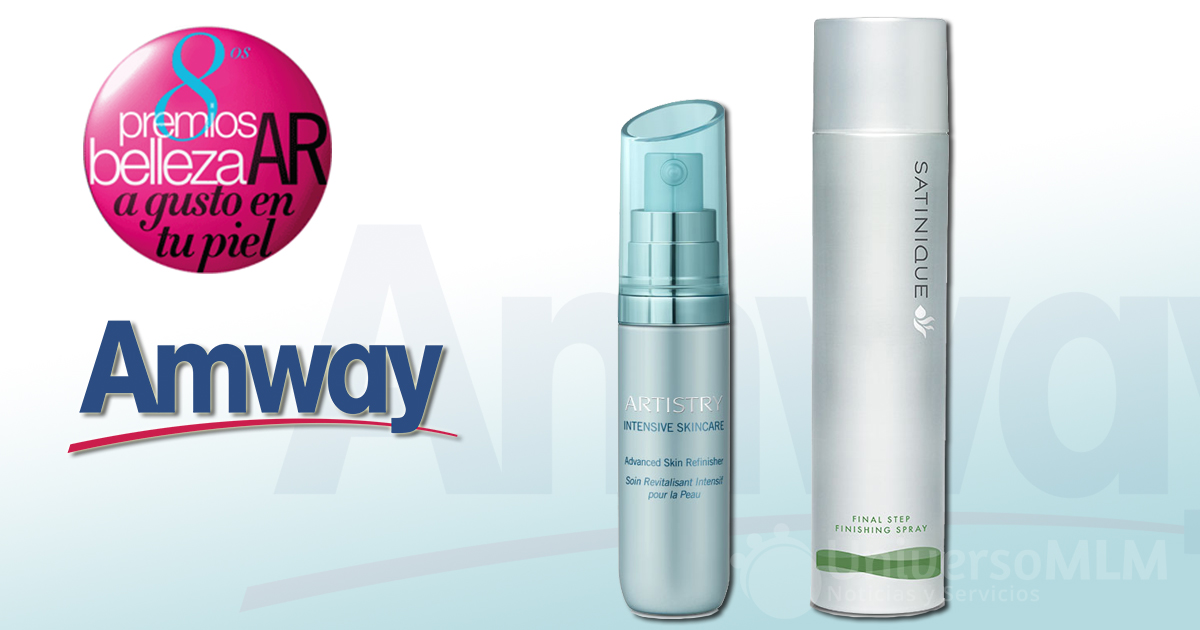 Dos productos de Amway en los premios AR