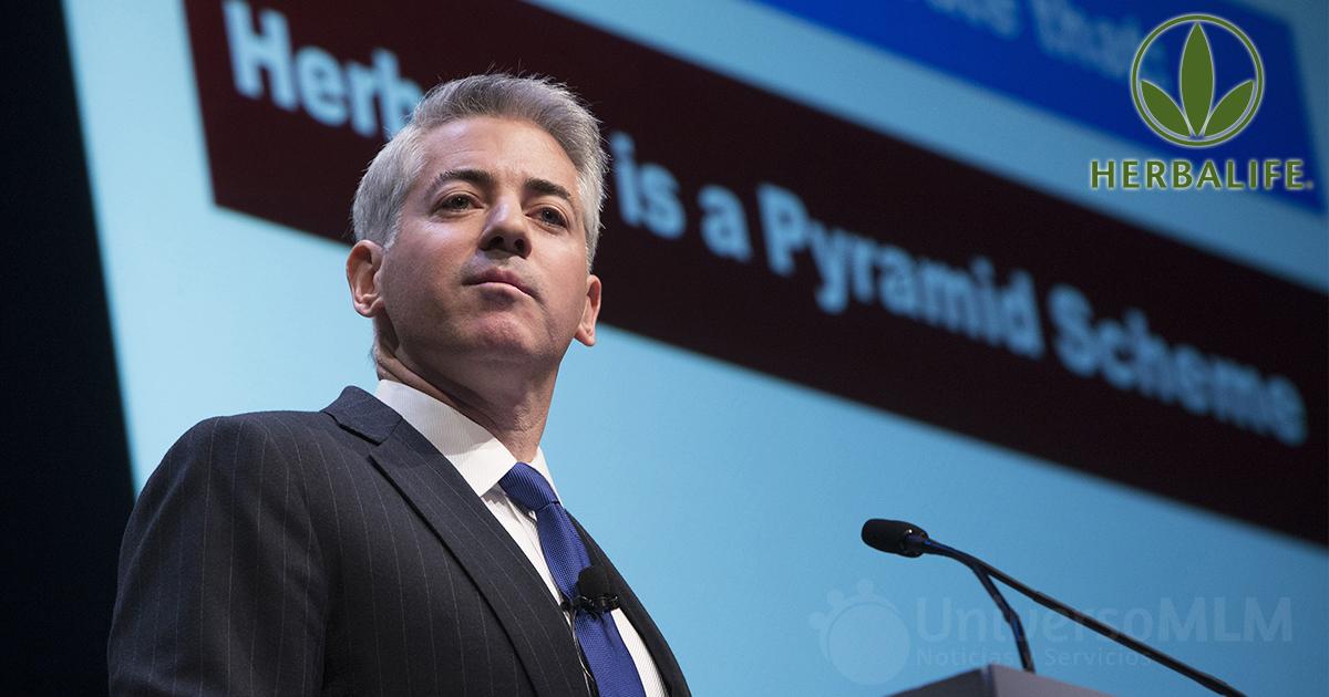 Bill Ackman acusando a Herbalife de esquema piramidal