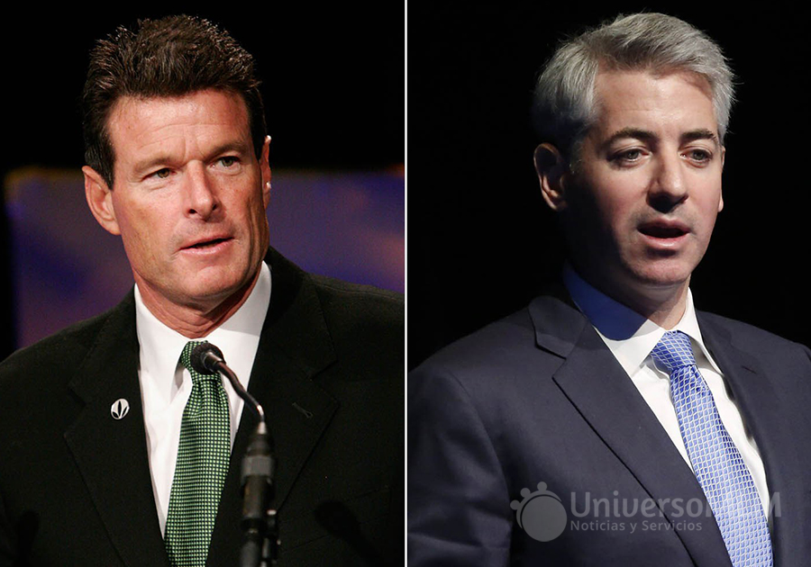 Michael O. Johnson y Bill Ackman