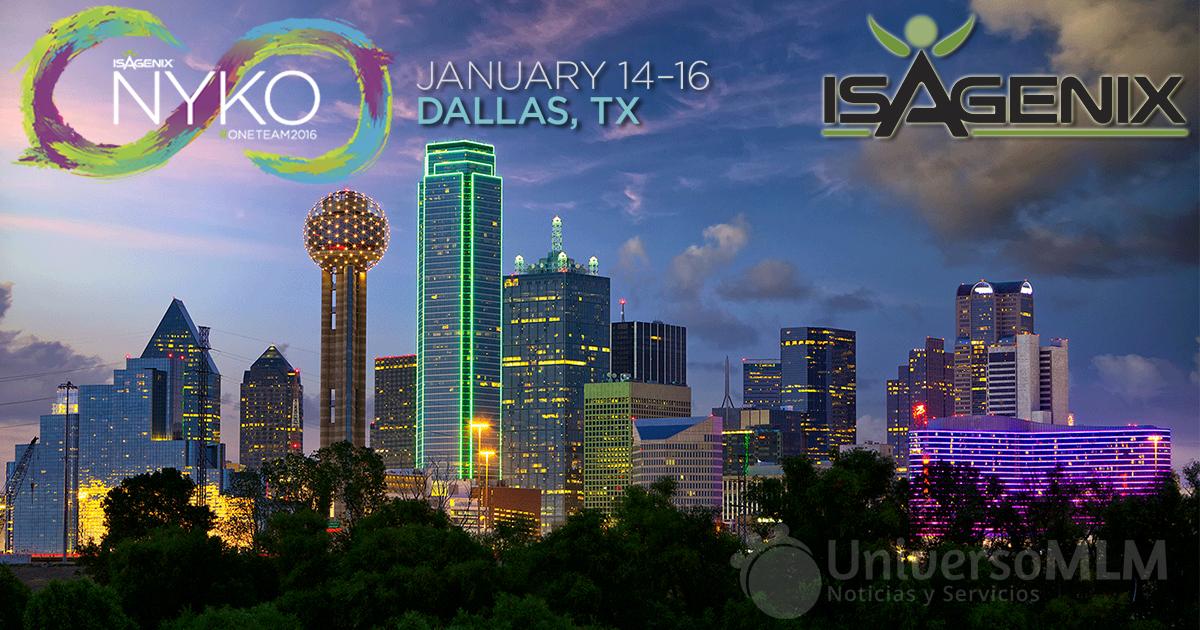 Dallas acogerá el NYKO 2016