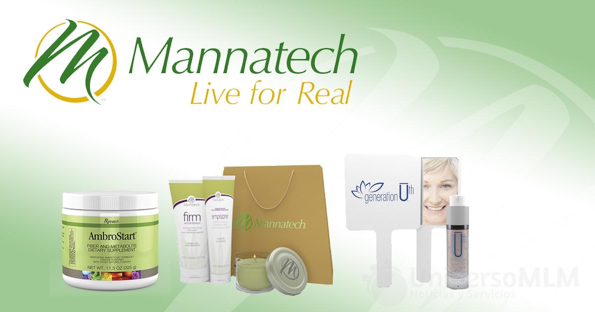 Productos y regalos de Mannatech