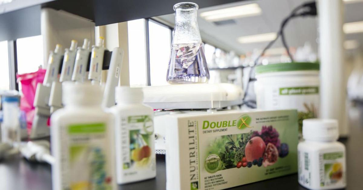 NUTRILITE, una de las marcas de Amway especializada en nutrición