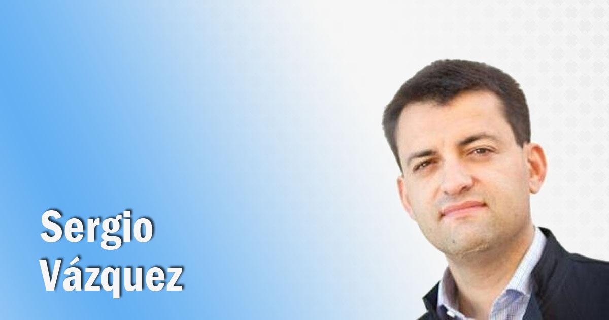 El blogger Sergio Vázquez