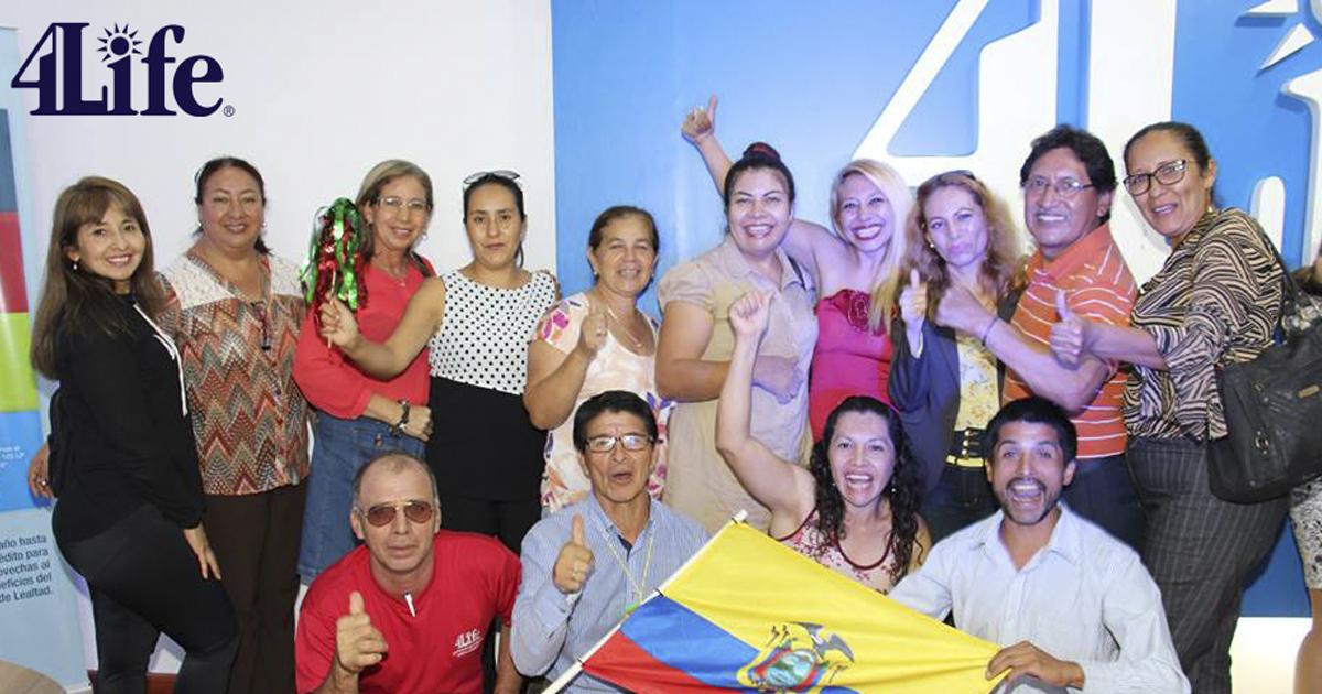 4Life Ecuador inaugura su tercera oficina