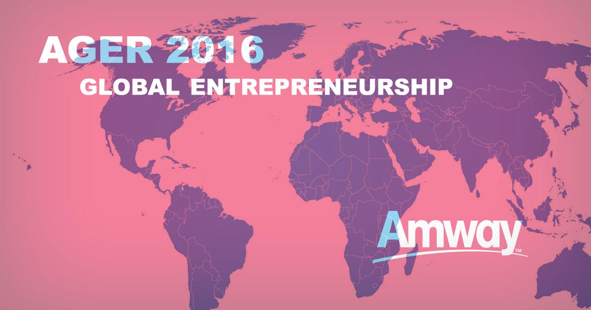 Amway presenta su informe AGER 2016