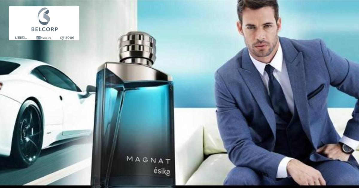 Willian Levy, imagen del perfume Magnat de Ésika