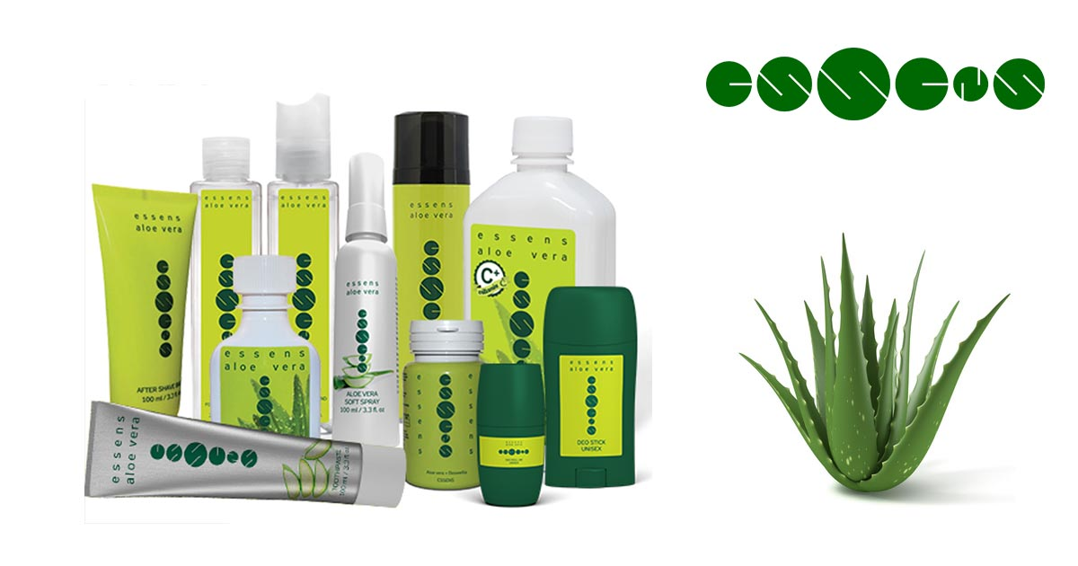 Gama de productos ESSENS con Aloe Vera