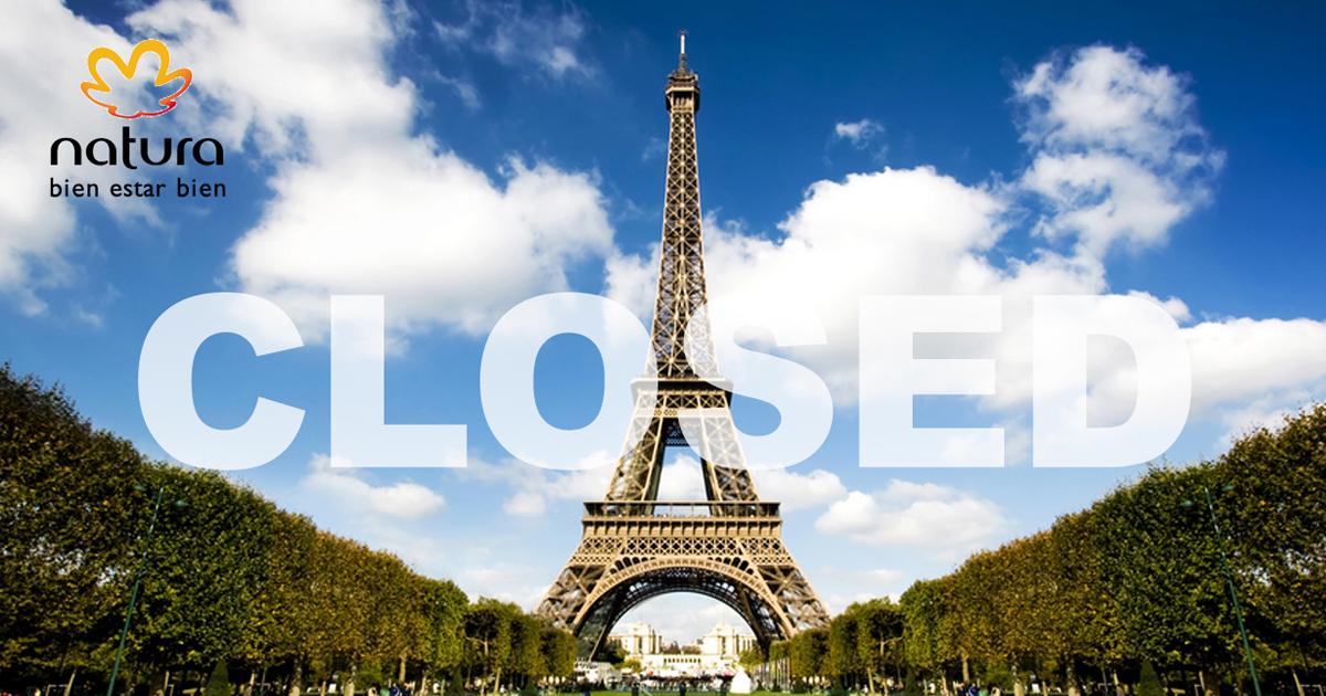 Natura Cosméticos cierra su mercado de Venta Directa en Francia