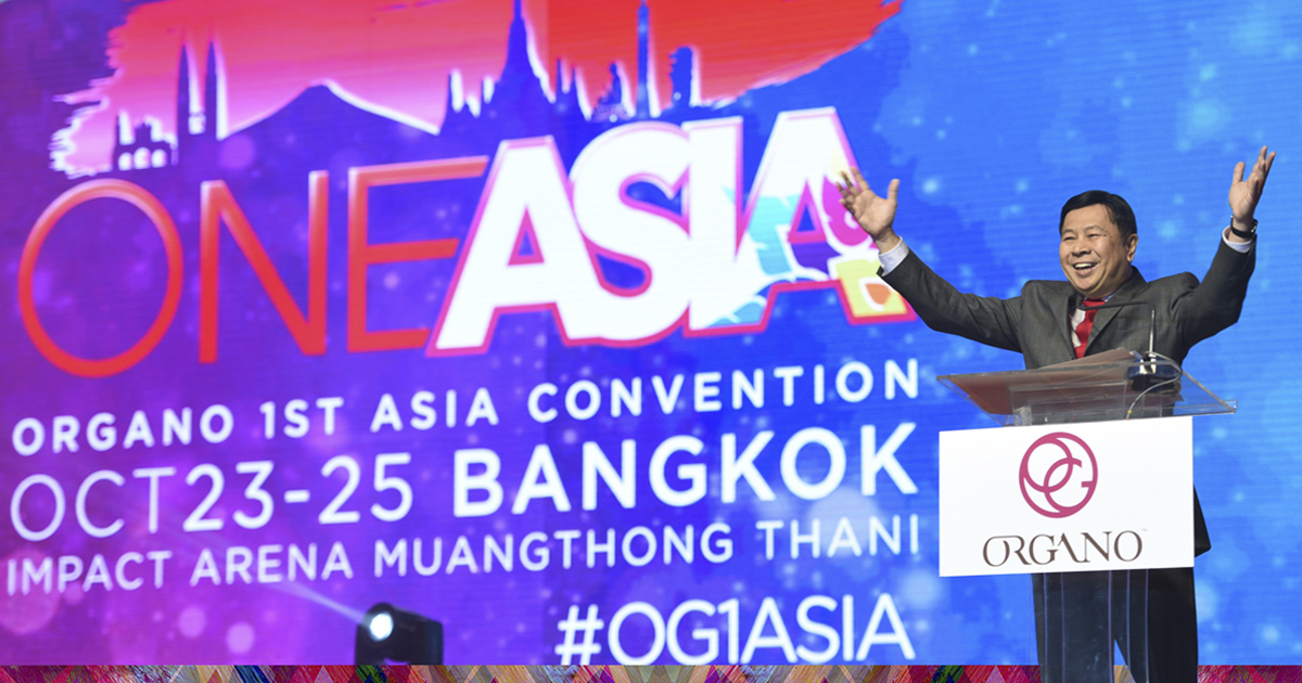 Convención de ORGANO en Asia 2015