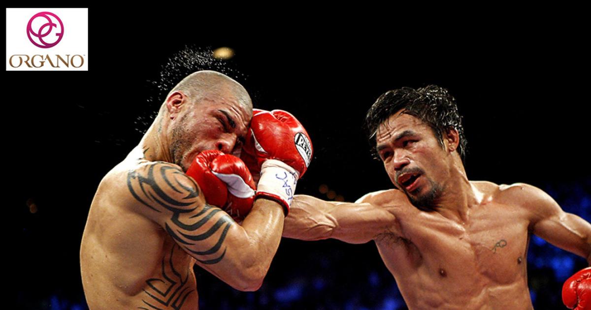 Manny Pacquiao, campeón de boxeo peso welter y Diamante de ORGANO
