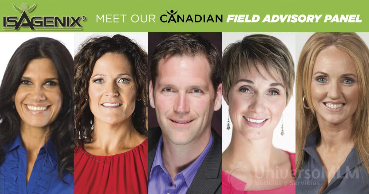 Grupo Asesor de Canadá de Isagenix