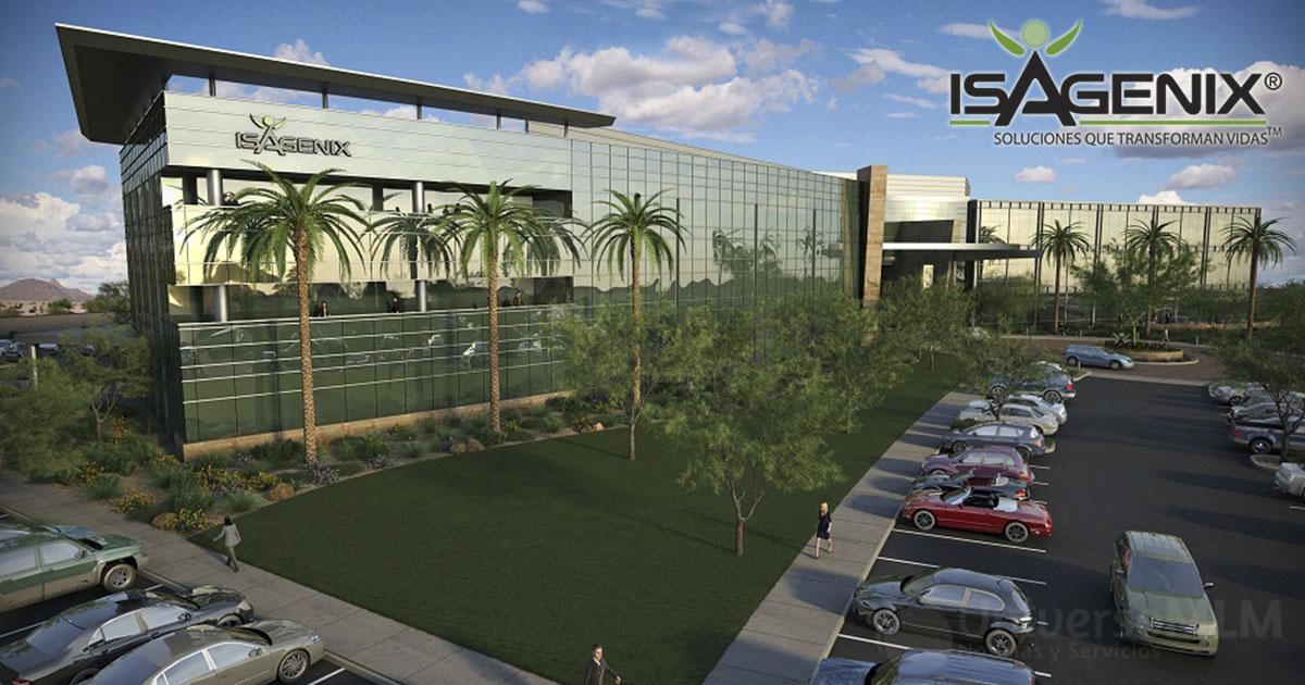 Diseño de la nueva sede de Isagenix