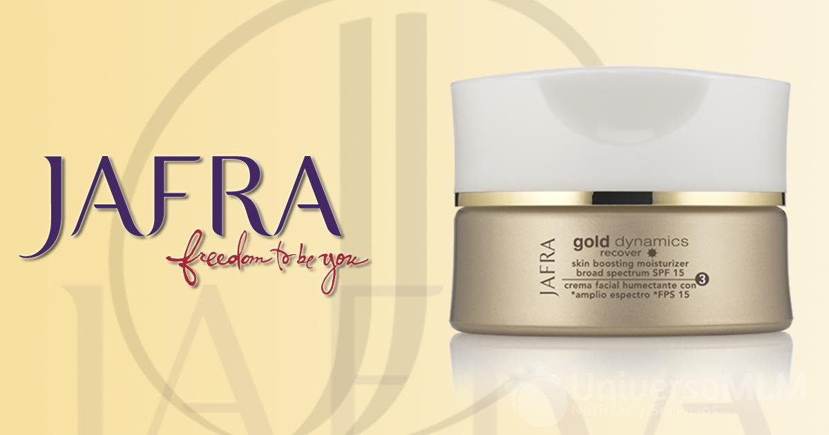Nueva línea Gold Dynamics de Jafra Cosmetics