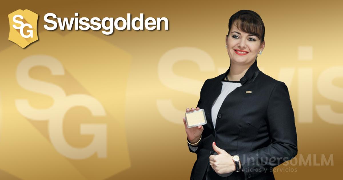 Kseniya Kreger, directora de Ventas de Swissgolden
