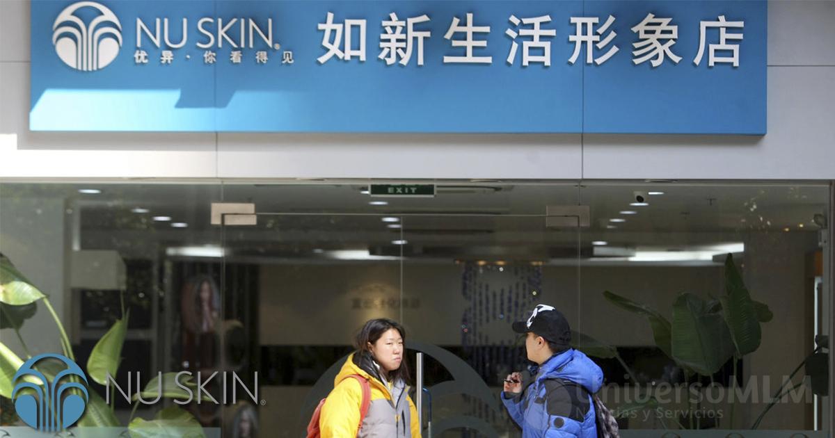 Bajan las ventas de Nu Skin en China