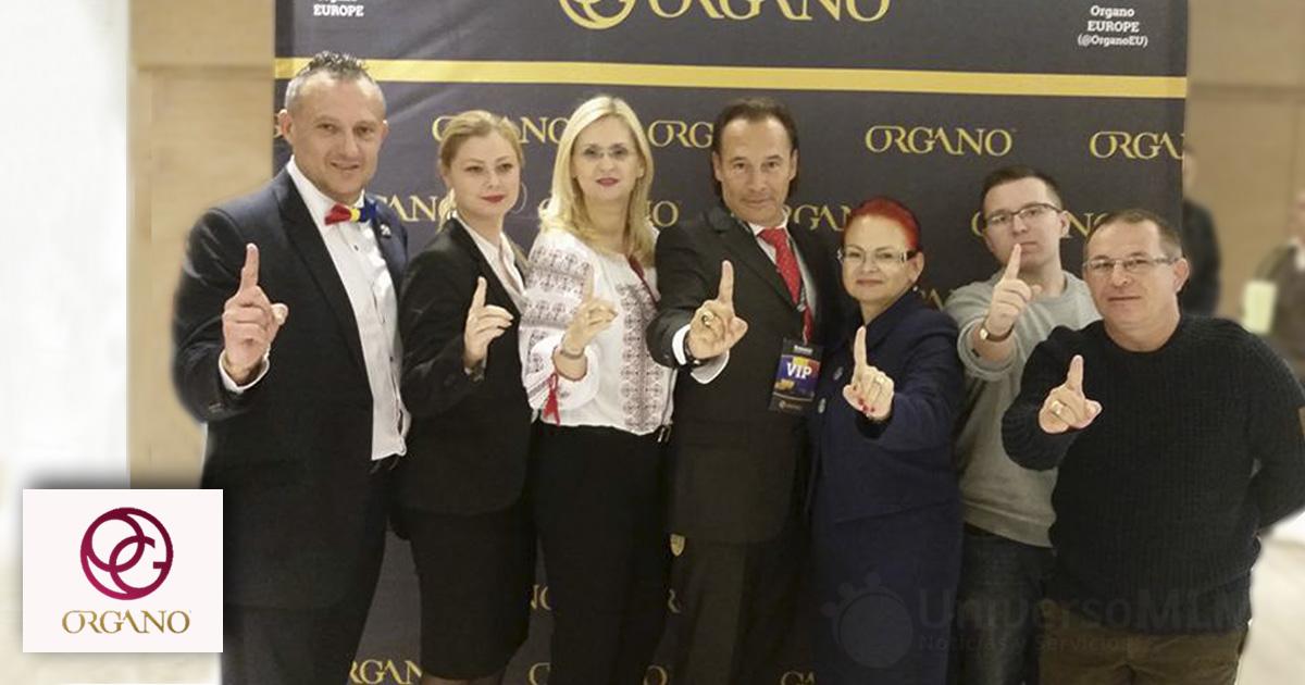 Ejecutivos y distribuidores de ORGANO en Romania