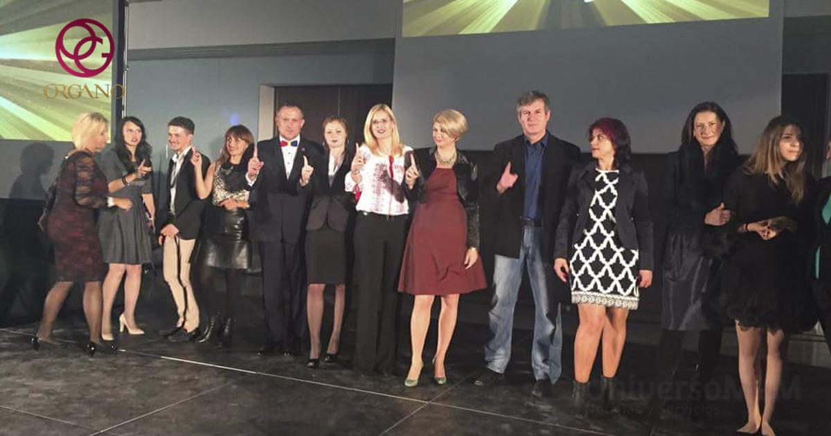Imágenes del evento de ORGANO en Rumanía