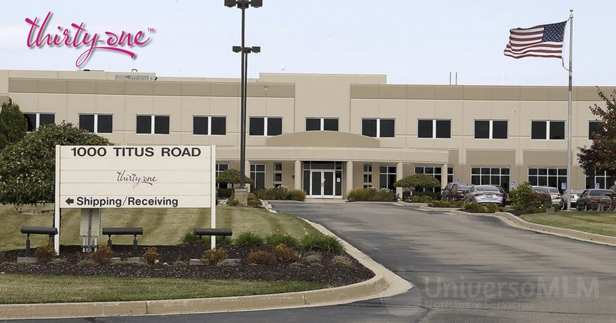 Planta de producción de Thirty-One Gifts en Springfield
