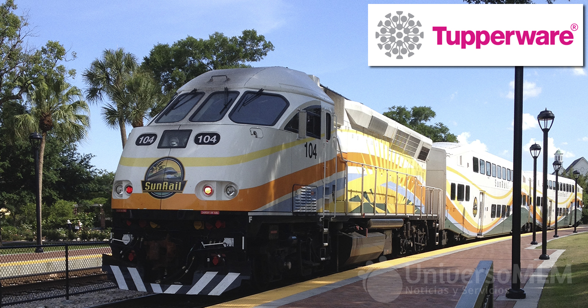 Tupperware financia una estación de SunRail