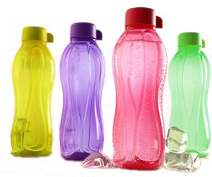 Botellas ecológicas de Tupperware