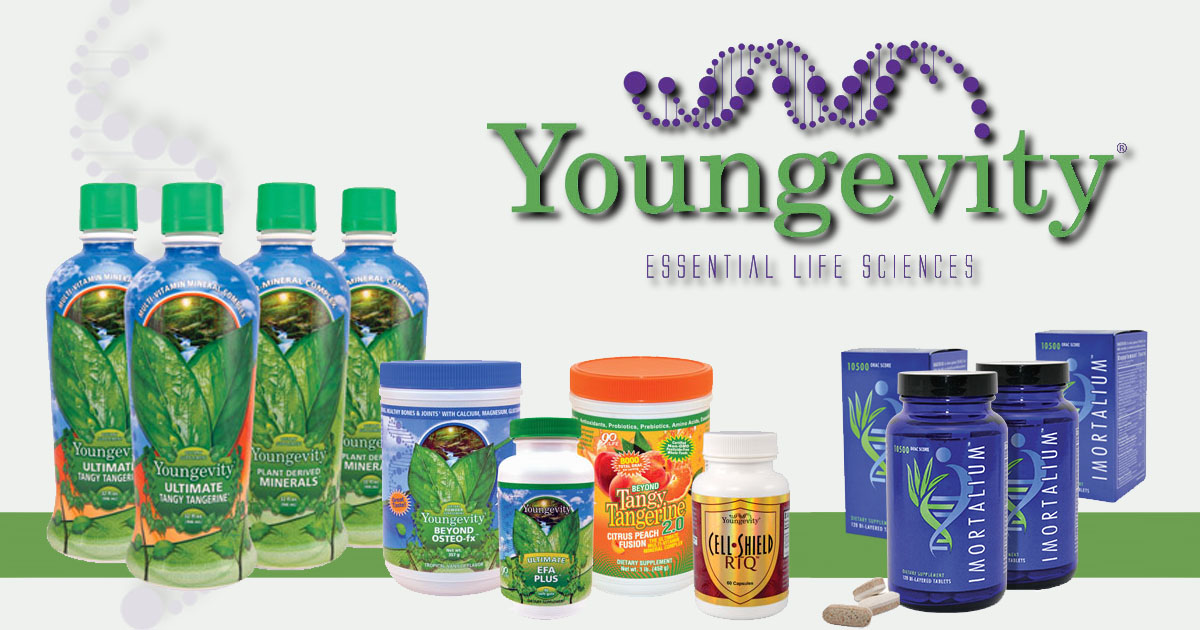Algunos productos de Youngevity