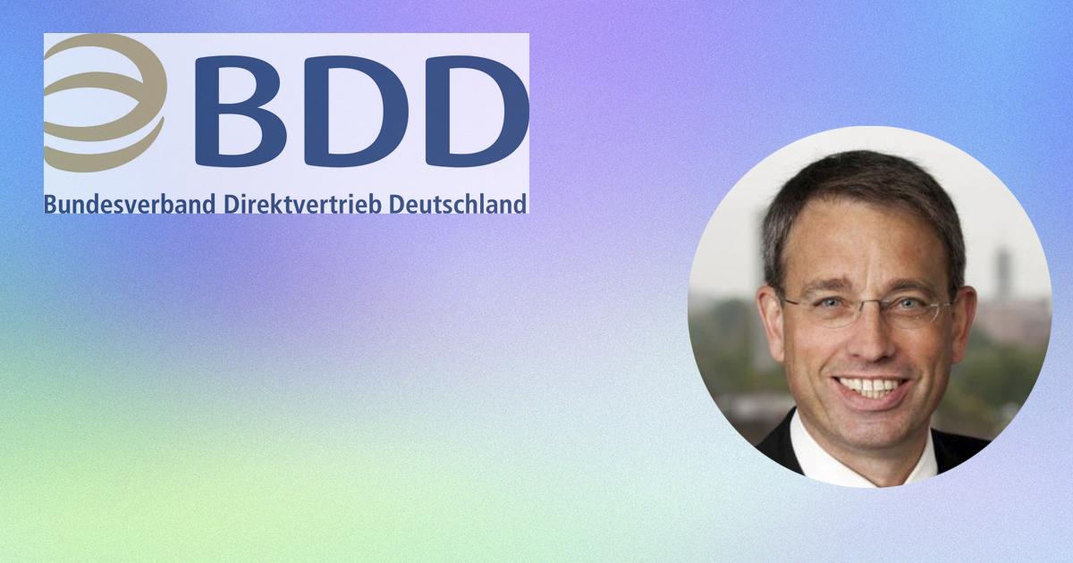 Jochen Acker, CEO de la Asociación de Venta Directa de Alemania (BDD)