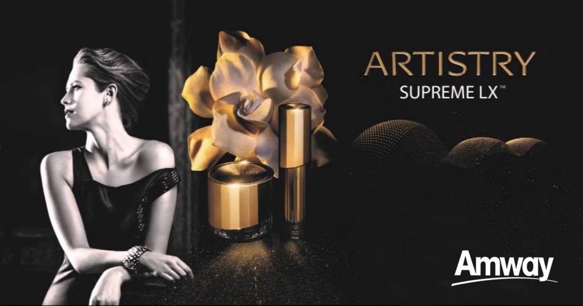 Artistry Supreme LX, nueva colección de Amway
