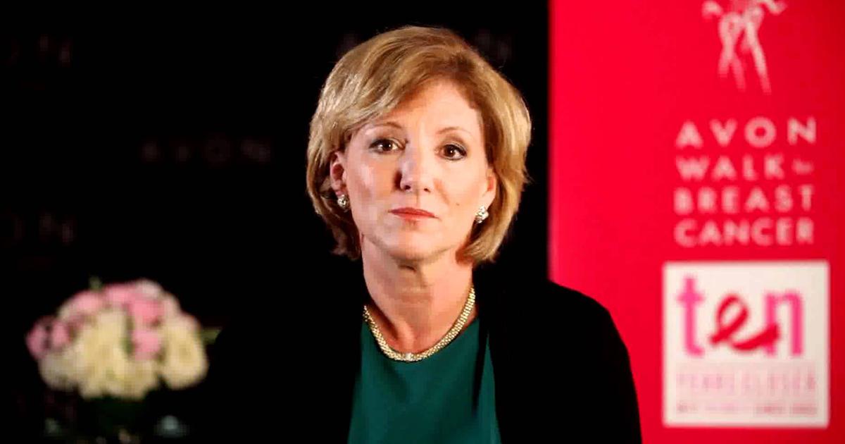Sheri McCoy, presidenta mundial de Avon