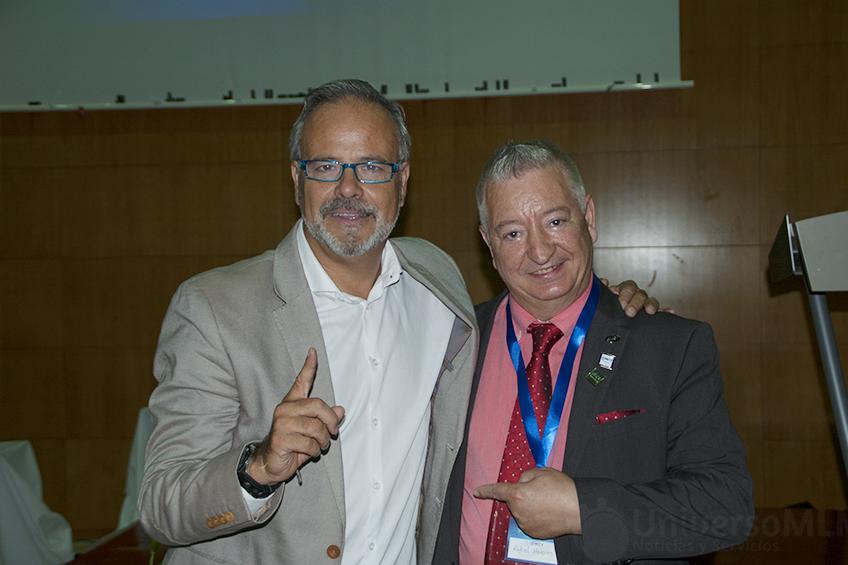 Eduardo Sánchez (izq) y Rafael Henares