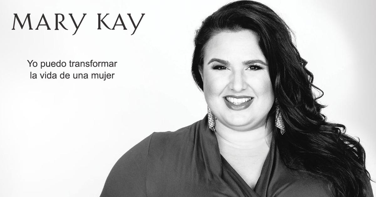 Una de las consultoras de Mary Kay protagonista de la campaña