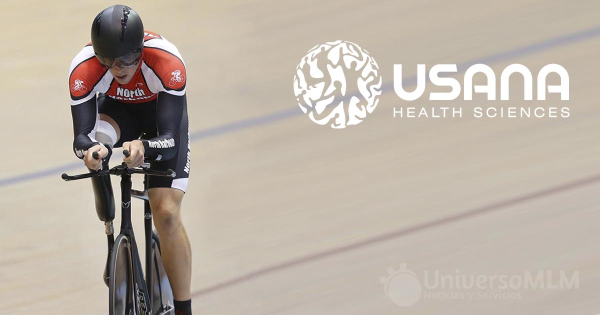 Byron Raubenheimer, para ciclista de Usana