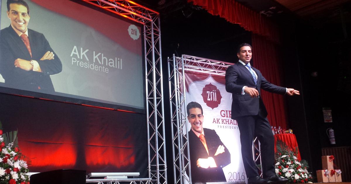 A.K. Khalil, presidente de Zrii