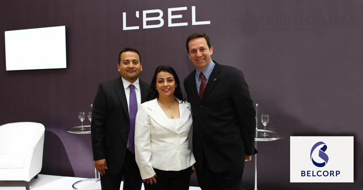 Directivo de Belcorp Brasil con Claudio Eschecolla (a la derecha), director general de la compañía en el país