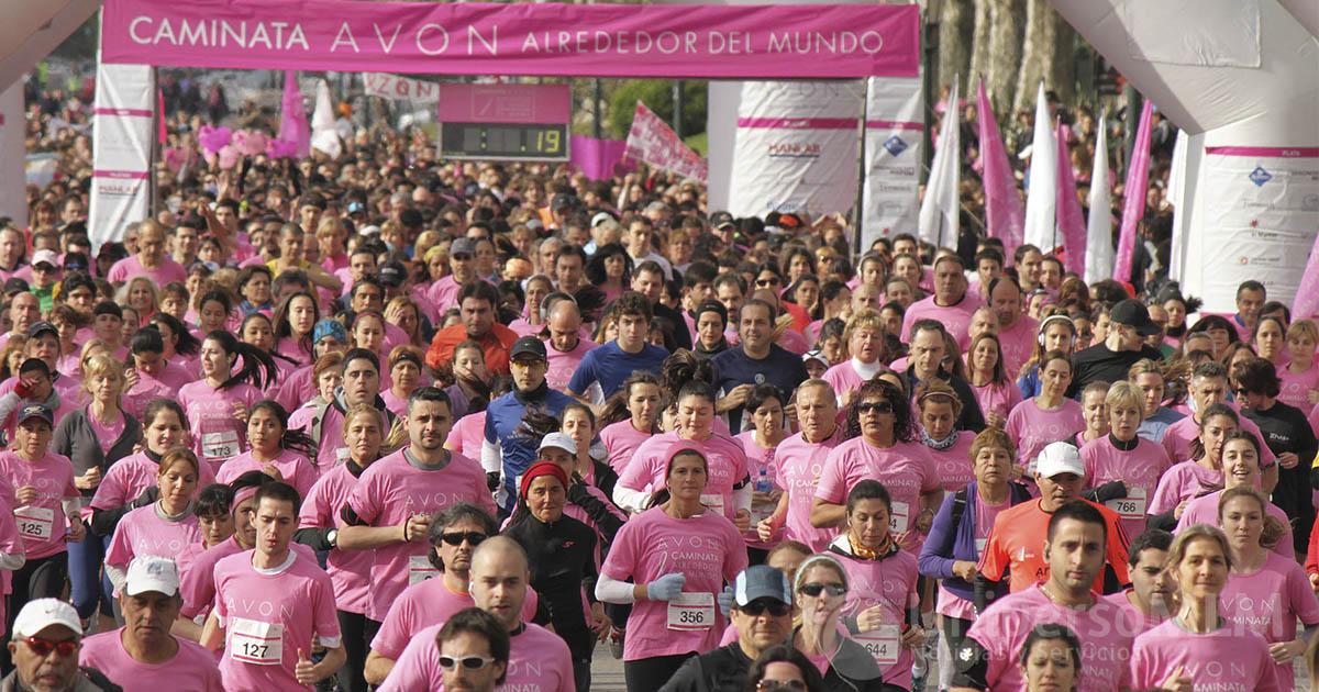 Caminata Avon contra el cáncer de mama