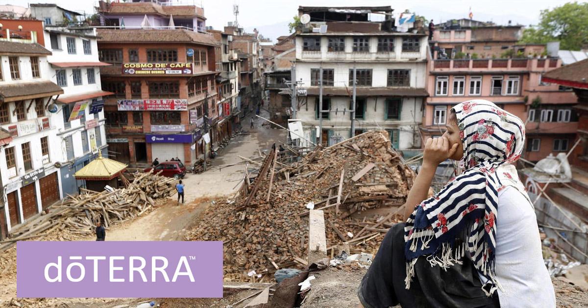 Imagen tras el terremoto sufrido en Nepal en abril de 2015
