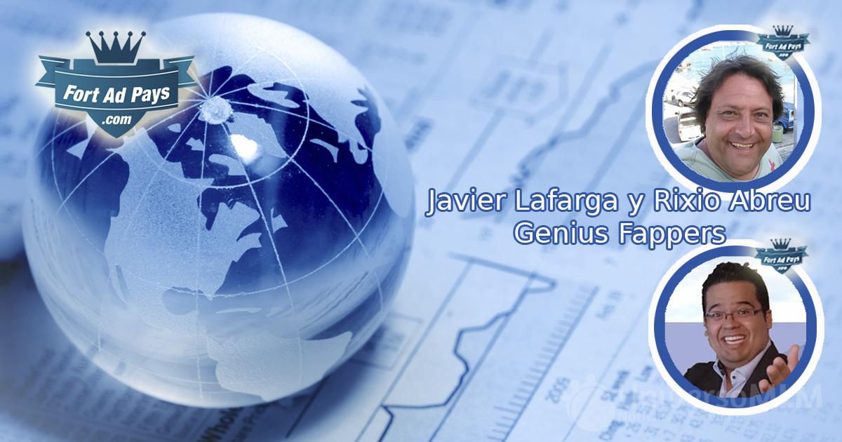 Javier Lafarga y Rixio Abreu, Ganius Fapper