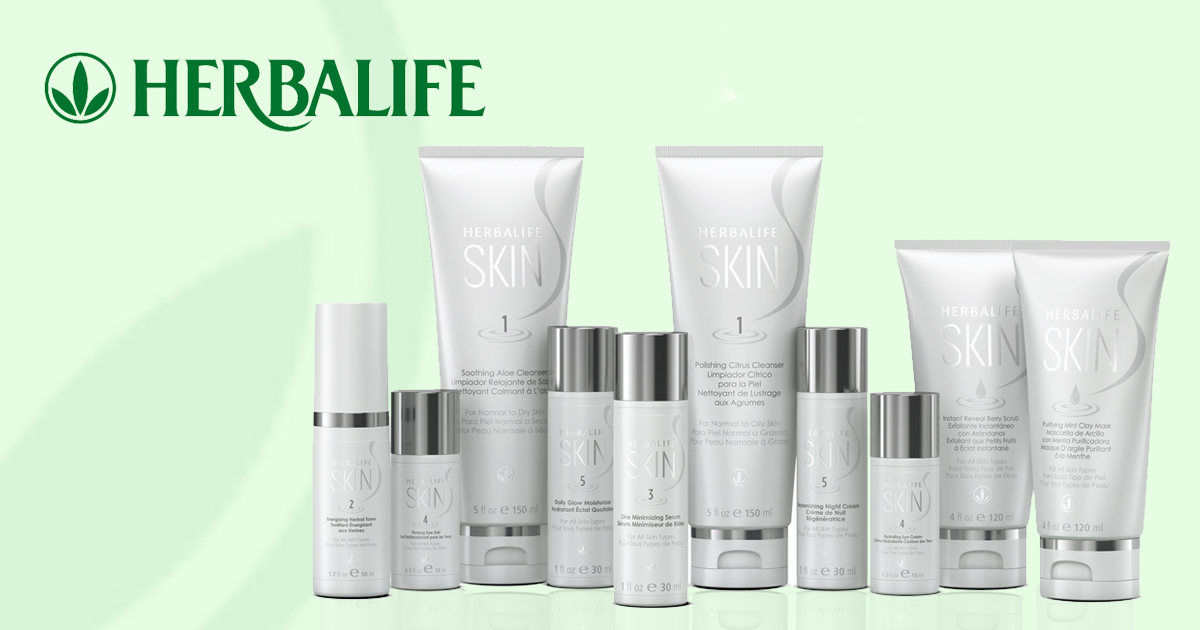 Gama de productos Herbalife Skin para el cuidado de la piel