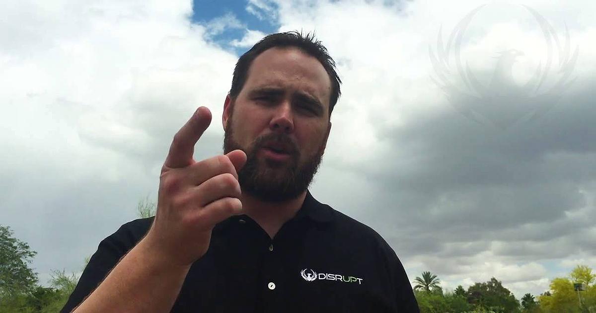 Jason Elrod, fundador de WakeUpNow y Disrupt