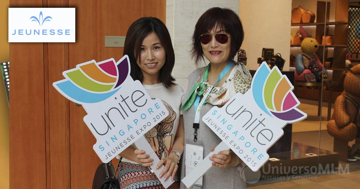 Distribuidoras de Jeunesse en la Expo Singapur 2015