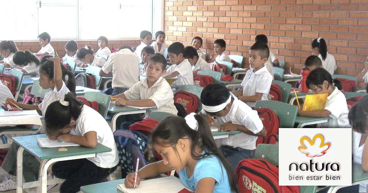 Natura Cosméticos invertirá en las escuelas mexicanas