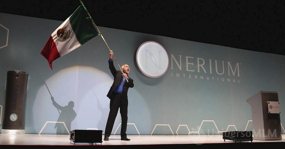 Evento de presentación de Nerium Internacional en México