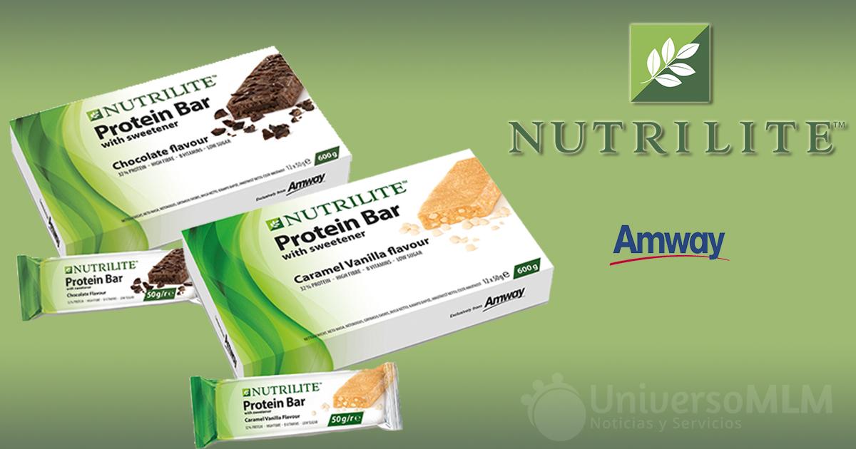 Nuevas barritas de proteínas de Nutrilite