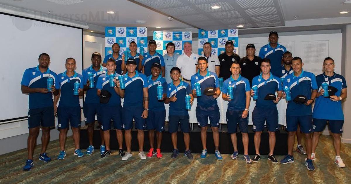 Jaguares FC de Córdoba patrocinados por Usana