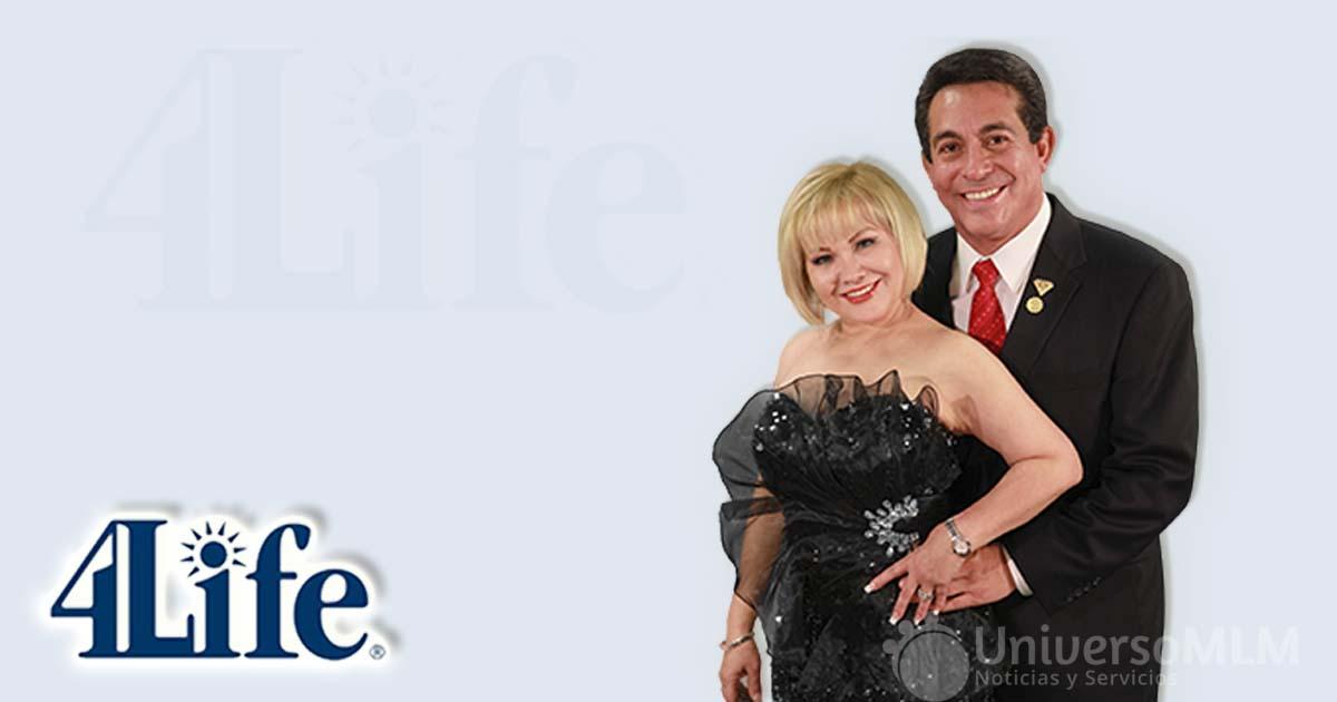 Lilly y José Ángel Sánchez, Diamante Internacional Platino