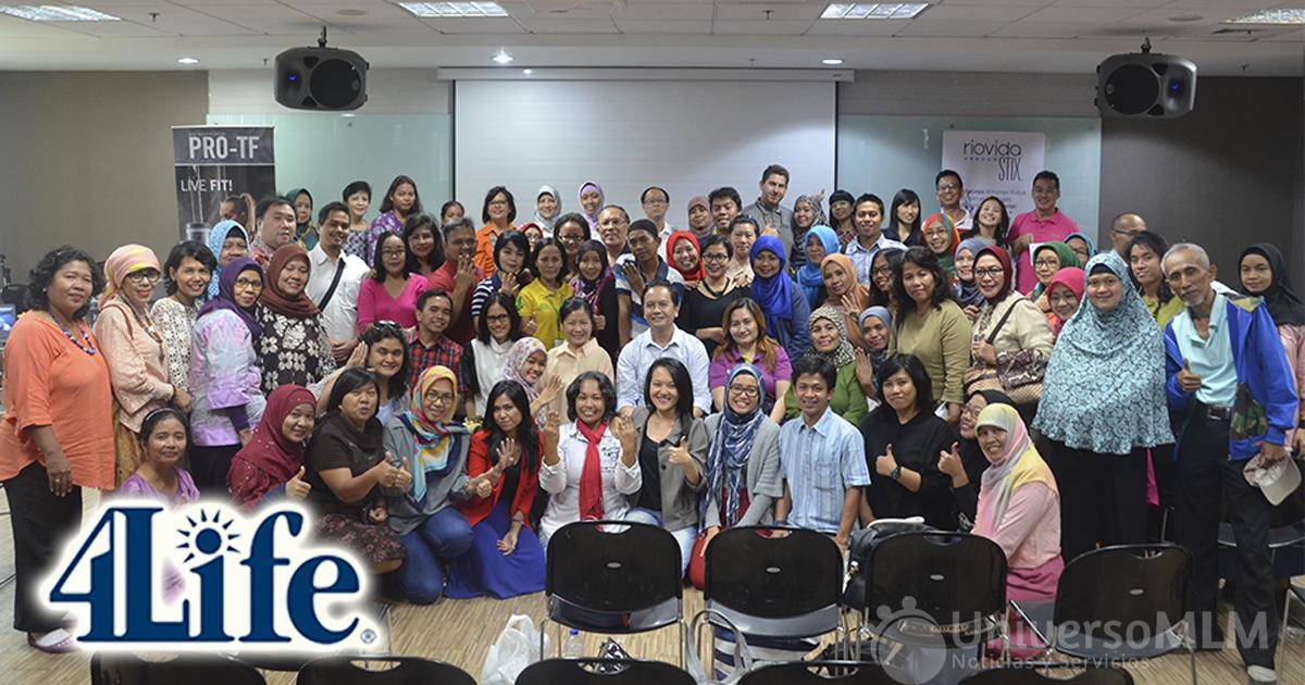 Distribuidores de 4Life en Yakarta