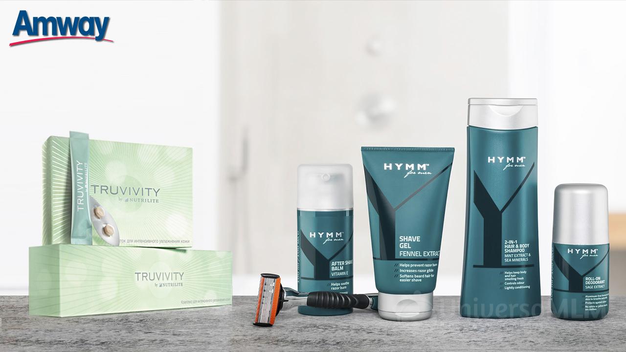 Empresas: Amway lanza dos nuevas líneas de productos: la nutricosmética y el cuidado personal para el hombre