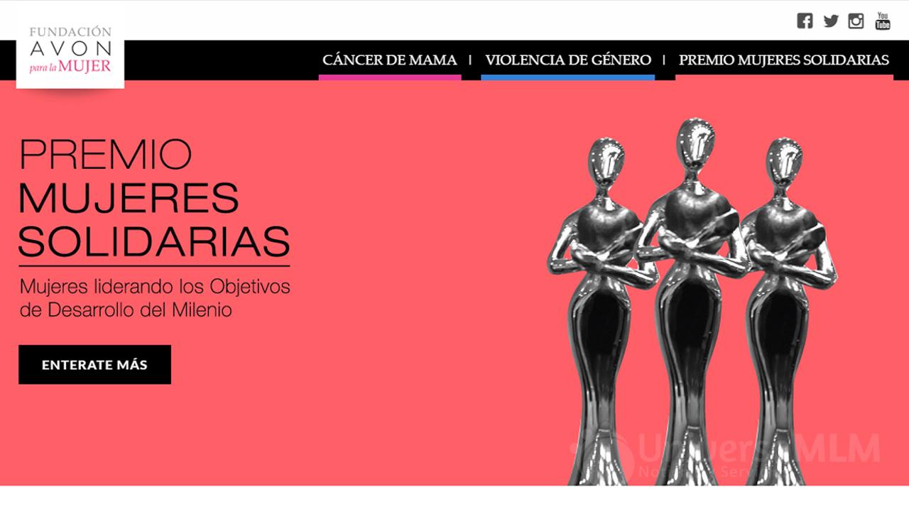 Nuevo sitio web de la Fundación Avon Argentina