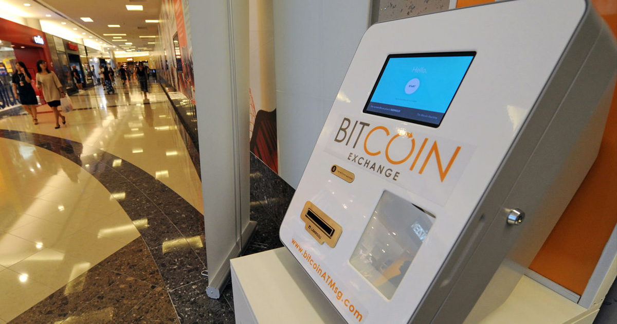 Cajero de Bitcoin en Singapur