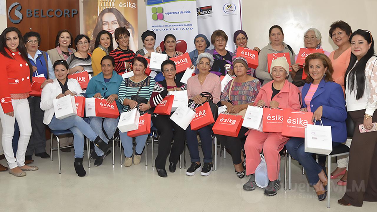 Empresas: Ésika anima a las mujeres con cáncer a redescubrir su belleza